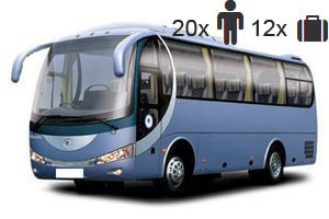 Middle sized bus (33 seats or more)