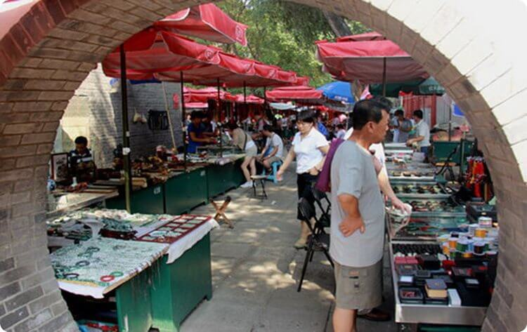 Baoguosi Temple Culture Market