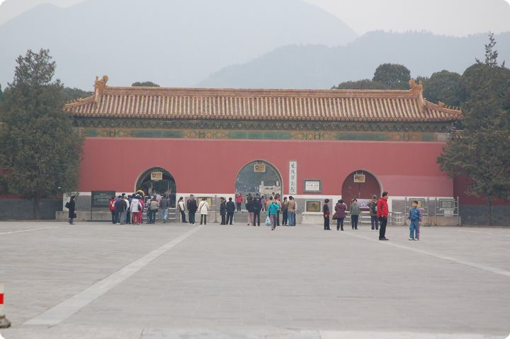 Ming Tombs of Dingling