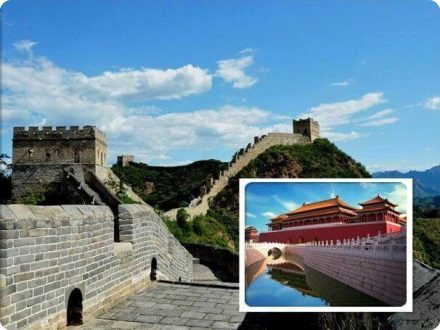 Mutianyu Great Wall & Forbidden City Day Tour