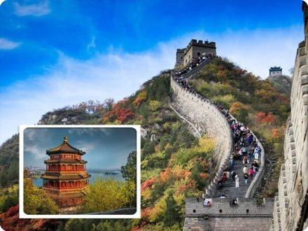 Badaling Great Wall of China & Summer Palace Coach Tour